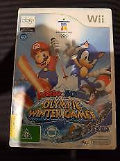 Mario & Sonic at the Olympic Winter Games Wii Game