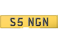 S5 NGN SINGH SINGER initials AND ETC. 5 PREFIX PLATE