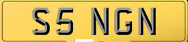 CHERISHED PRIVATE PLATE SINGH, SIGN AND ETC