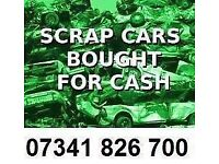 07341 826 700 CARS VANS JEEP WANTED CASH TODAY BUY SELL MY SCRAP TOP CASH CALL ANY TIME PAY CASH