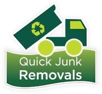 JUNK REMOVAL! - GONE NOW!