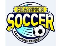 ***6 A SIDE FOOTBALL TEAMS WANTED NOW IN BASINGSTOKE FOR BRAND NEW TUESDAY SEASON***