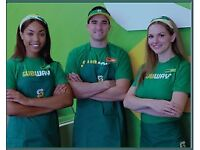 Subway Sandwich Store Supervisor