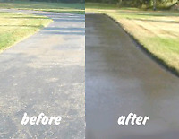 Driveway sealcoating**Crack repairs **Cold asphalt patches