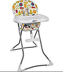 Graco high chair fruit salat