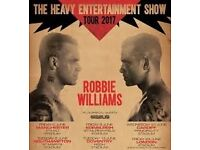 Robbie Williams Standing unreserved Tickets Etihad 2nd June x 2 Manchester