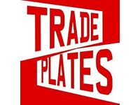 Trade plate for sale call me for info