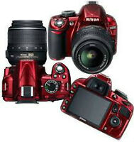 Nikon D3100 14.2MP Digital SLR Camera with 18-55mm f/3.5-5.6
