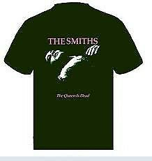 The Smiths queen is dead t shirt small