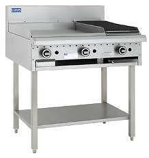 600 Grill 300 Bbq & Shelf - Luus BCH6P3C - Catering Equipment Campbellfield Hume Area Preview