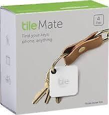 Tile Mate Bluetooth® Item Tracker - 4-Pack - BRAND NEW SEALED