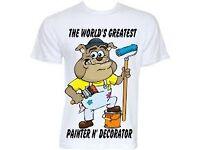 Man looking for job part time or full time painter,joiner plastering,gardening etc..