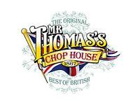 BAR & RESTAURANT TEAM MEMBERS - Mr Thomas' Chop House