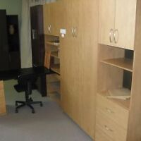 BOFF wall bed - Murphy bed (Queen).  Ready for pickup