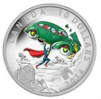 1/2 oz Silver 2014 Superman Coin - Action Comics #1 from 1938