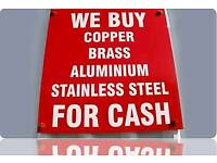 Scrap metal wanted free collection cash paid on large amounts
