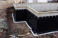 BASEMENT WATERPROOFING - BASEMENT LEAK REPAIR