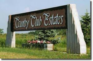 Country Club Estates lot
