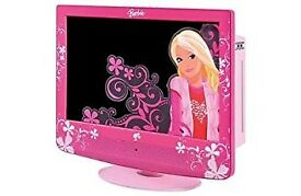 Pink barbie tv and dvd combi. Boxed. Ultra rare.