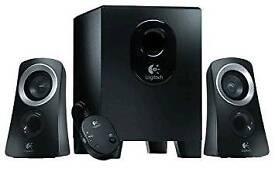 Logitech 2.1 Z313 Speaker System - Black
