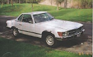 1973 Mercedes 400 SL $3,500.00 FIRM or TRADE