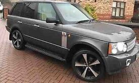 Range Rover vogue 2003 BMW Audi