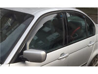 CLIMAIR Car Wind Deflectors BMW 3-Series 4-Door Saloon E46 1998-2005 SET of 4 UK (Fits: BMW [E46])