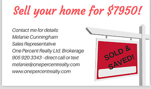 SELL YOUR HOME FOR $7950  - SELL AND SAVE!