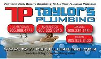Opportunity exists in Waterdown at Taylor's Plumbing.