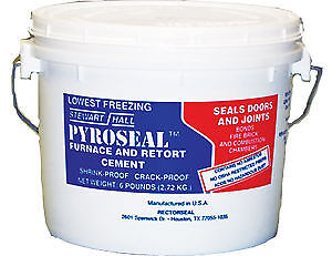 Rectorseal 68618 12-Pound Pyroseal Furnace And Retort Cement