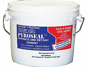 Rectorseal 68618 12 lbs Pyroseal Furnace And Retort Cement