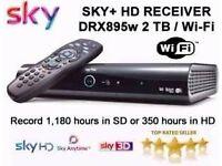 sky hd box brand new 2tb
