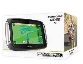 Brand New TomTom Rider 40 Pack - £279.99