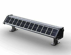 Solar LED commercial wall washers for billboards lighting, etc