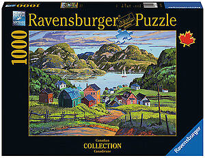 RAVENSBURGER 1000 UN LAC CHARLEVOISIEN COMME NEUF TAXES INCLUSES