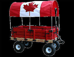 Millside Classic Covered Kids Wagon
