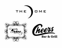 The Dome, Cheers and Taboo is hiring Security Staff