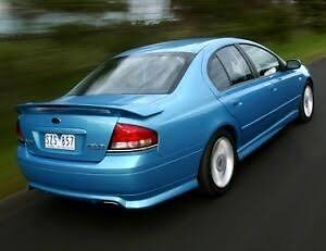 Ba xr6 turbo wrecking