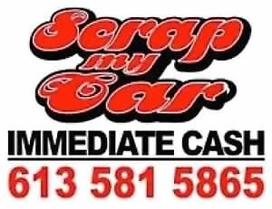 We Pay top money for your Junk Car Minimum $250 If Drivin In