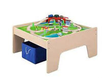 Train Table - Includes all train pieces and track