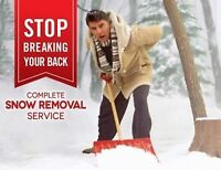 Residential Snow Removal Shovelling Services In Cambridge
