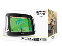 Brand New TomTom Rider 400 - Built For Bikers