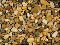 Garden Chips - golden Quartz pebble