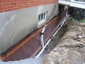 Leaky basement / Drainage solutions / Waterproofing London Ontario image 8