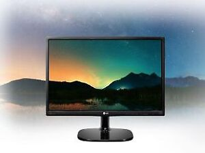 Barely used 24 inch LG 1080p IPS monitor