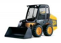 ditchwitch and skid steer for hire