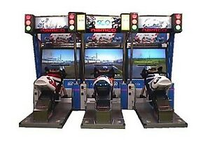 Motorcycle Arcade machine wanted! Manxtt or Namco Gp