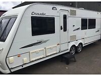 Elddis Crusader Cyclone Twin Axle 4 berth Fixed island bed 0809 - Touring caravan
