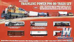 Walthers Trainline(R) Power Pro Diesel Freight Set CP version
