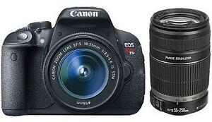 Canon Eos Rebel T5 / Eos 1200 D 18.0 Mp Digital Slr Camera   Black (Kit W/ Ef S Iii 18 55mm Lens) by Ebay Seller
